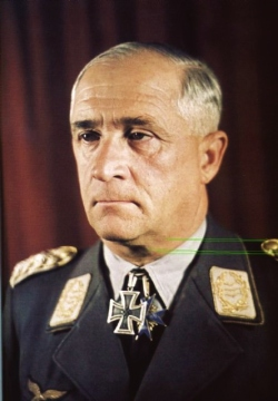 Field-Marshal Robert Ritter von Greim, the last commander of the Luftwaffe.