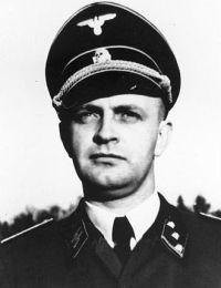 Heinz Linge, Hitler's SS valet.