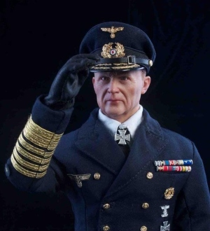 Großadmiral Karl Dönitz, Reichspräsident (President of the Reich) and Supreme Commander of the Armed Forces.