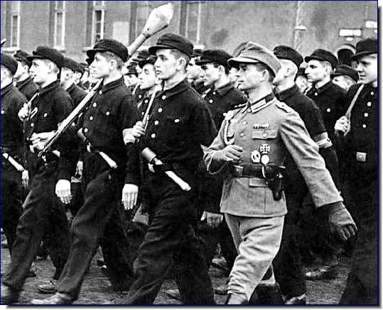 Last Ditch Defenders - The Hitler Youth troops.