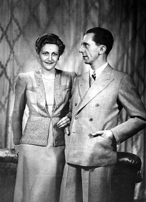 Magda and Joseph Goebbels