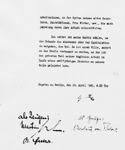 Mein privates Testament - Page 2 (Source: eisenhower.archives.gov)