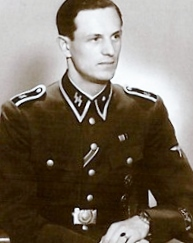 Rochus Misch, Hitler's courier, bodyguard and telephone operator.