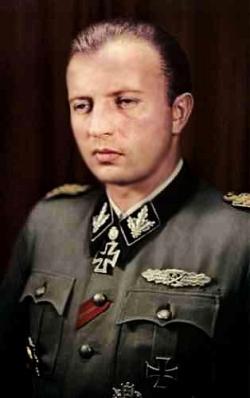 SS-Gruppenführer Hans Georg Otto Hermann Fegelein.