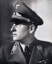 Artur Axmann, leader of the Hitler Youth (Reichsjugendführer)