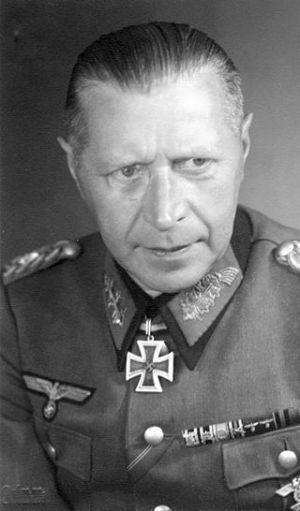 General Helmuth Weidling, defense commandant of Berlin.