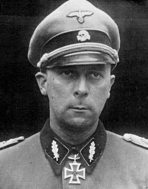 Wilhelm Mohnke, SS-Brigadeführer and Generalmajor der Waffen-SS.