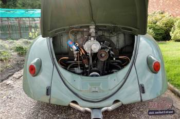 VW Ovali beetle - rear engine (Source: pre67vw.com)