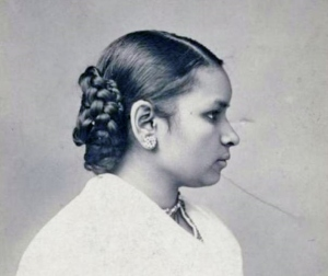 Anandibai Joshi in 1886. (Photo: Legacy Center Archives, Drexel University College of Medicine)