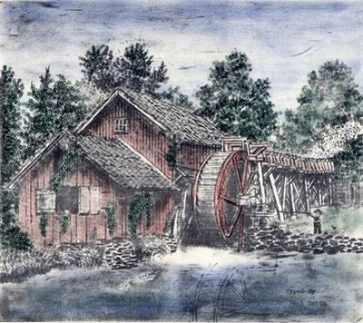 Watermill by Paul Smith