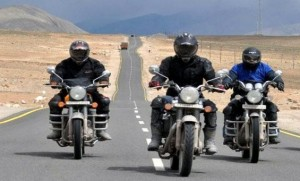 Bullet bike trip to Leh-Ladakh region could soon be made compulsory by constitutional amendment. (Source: fakingnews.firstpost.com)