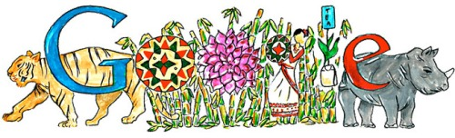 "Doodle4Google - ""Natural and Cultural Paradise - Assam"" by Vaidehi Reddy."