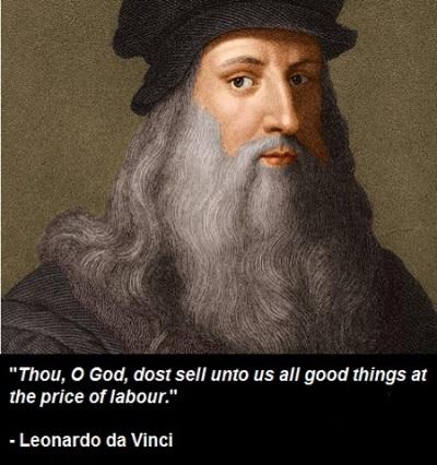 Leonardo da Vinci - Religion