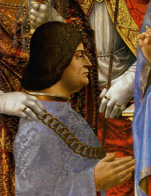 Ludovico Maria Sforza, the Duke of Milan.
