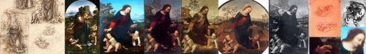 Nativity by various followers of Leonardo da Vinci - Salai, Cesare da Sesto, Fernando Yanez de la Almedina and Anonymous. (Source: Gytismenomyletojas - Wikimedia)