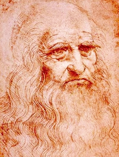 The red-chalk drawing in Turin, claimed to be a self-portrait by Leonardo da Vinci (1510-1515). In April 2009, the American art historian, Louis A. Waldman, specializing in the Italian Renaissance made pathetic headlines when he publicly presented documentary evidence revealing that some time before July 1505 Leonardo da Vinci painted a portrait of his beloved uncle, Francesco da Vinci. Waldman argued that this red-chalk drawing — one of the most famous drawings in the history of art due to its frequent misidentification as a self-portrait — is likely to be a preparatory study for the lost painting of Leonardo's uncle.
