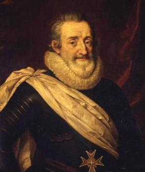 King Henry IV of France by Frans Pourbus the younger.