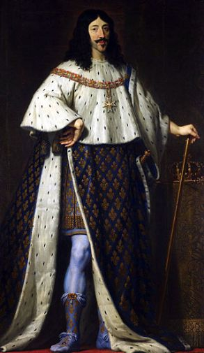 King Louis XIII King of France and Navarre by Philippe de Champaigne.