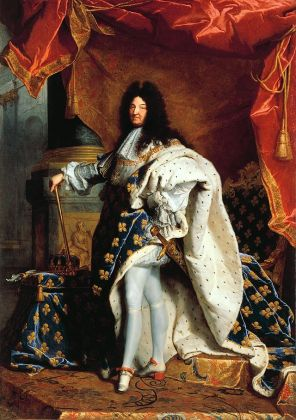 King Louis XIV of France by Hyacinthe Rigaud (1701).