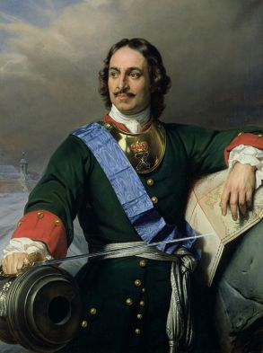 Peter the Great by Paul Delaroche.
