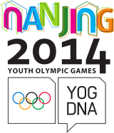 The logo for 2014 Summer Youth Olympics