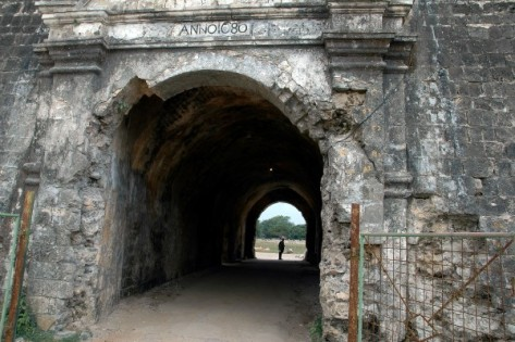 Entrance of Jaffna Fort built in 1618, by Portuguese Philip de Olivera (Photo: thehistoryhub.com)