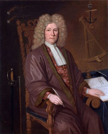 Robert Knox (1642-1720) of the East India Company, by P. Trampon