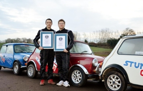 Stunt Drive UK Instructors and Gloucester based brothers Alastair Moffatt (33) and John Moffatt (31) (Source: stuntdriveuk.com)