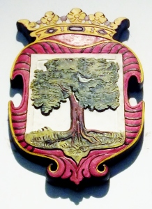 The coat of arms of Colombo from the Dutch Ceylon era.
