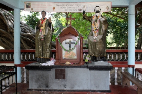 The Shrine of Saint Joseph Vaz at Galgamuwa (Source: archdioceseofcolombo.com)