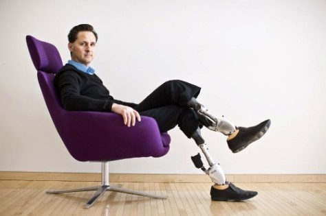 Dr. Hugh Herr Phot by Claudia Dreifus( Source: nytimes.com) (Custom)