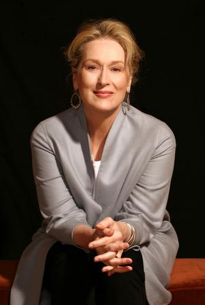 Meryl Streep in July 2008