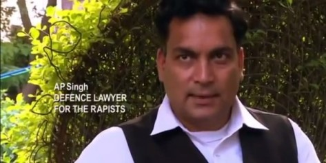 A.P. Singh, Defence Lawyer for the rapists (Custom)