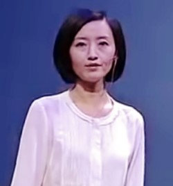 Chai Jing - former investigative reporter and a celebrity TV anchor.