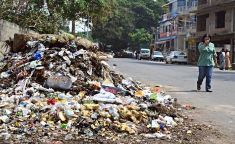 Garbage not going anywhere (Source: thehindu.com)