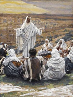 "James Tissot, ""The Lord's Prayer"" (1886-96)"