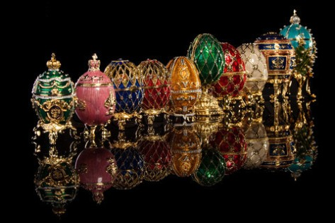 A few Fabergé Eggs (Source: thesipadvisor.com)