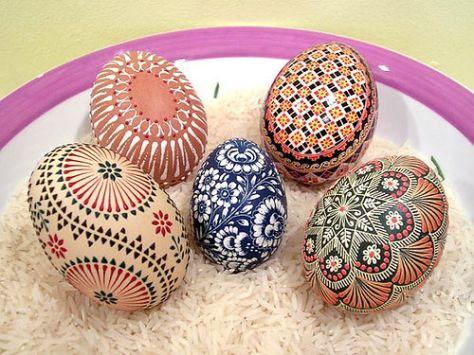 Hand Painted Easte Eggs (Source: menorca-live.com)