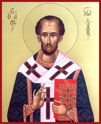 St. John Chrysostom (Source: integrated atholiclife.org)
