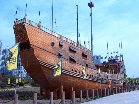 A full size replica of Zheng He's treasure ship at the site of the shipyard where original ship was built in Nanjing (Alamy) (Source: telegraph.co.uk)