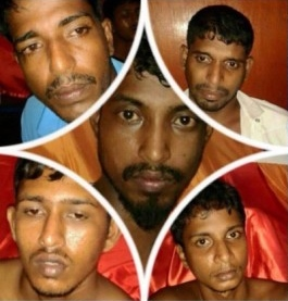 Five of the 9 rapists (Source: 247latestnews.com)