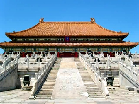 Hall of Supreme Harmony, in the forbidden city (Source :chinatourguide.com)