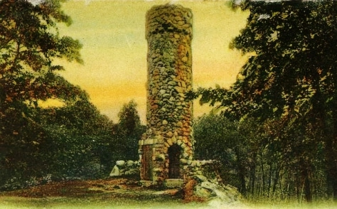 Norumbega Tower,  Weston, Massachusetts.