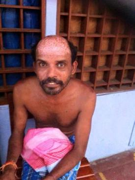 Mahalingam Sivarkumar, the main suspect (Source: Naangal Yaalpaanam/Facebook))