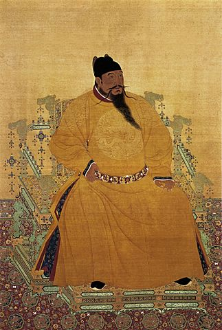The Yongle Emperor (Born as Zhu Di), the third Ming Emperor of China.
