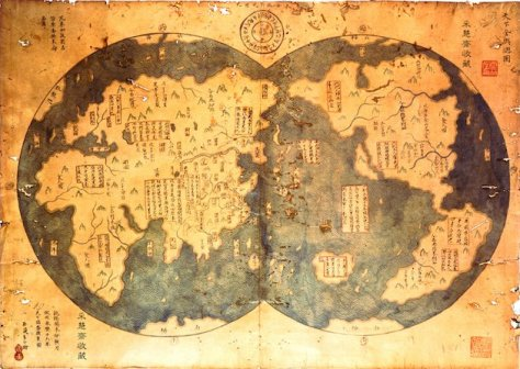 Does this map prove that the Chinese discovered America before Columbus (Harper Collins)