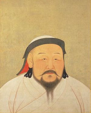 Kublai Khan, Emperor of China. The 5th Khagan of the Mongol Empire. The First Emperor of the Yuan dynasty.