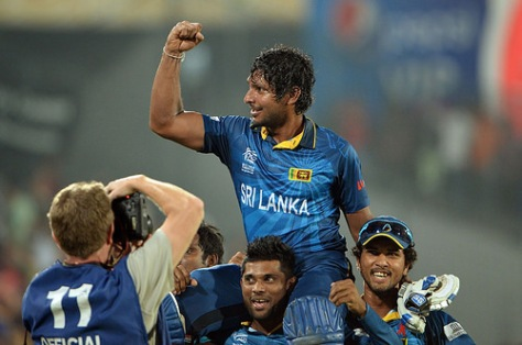 On April 6, 2014, Kumar Sangakkara hit a memorable half-century to help Sri Lanka to a six-wicket victory over India in the World Twenty20 final in Dhaka. (Source: np.gov.lk)