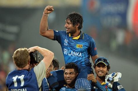 On April 6, 2014, Kumar Sangakkara hit a memorable half-century to help Sri Lanka to a six-wicket victory over India in the World Twenty20 final in Dhaka. (Source: np.gov.lk)