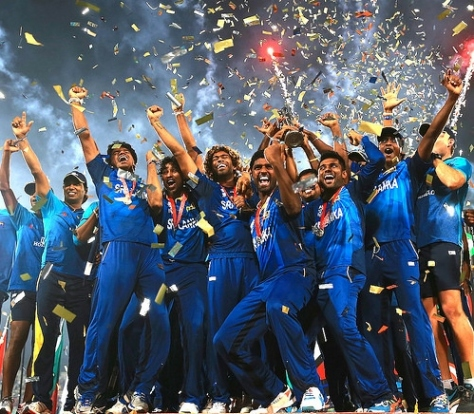 Sri Lanka's victory over India in the World Twenty20 final in Dhaka. - 2 (Source - np.gov.lk)